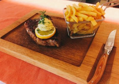F & B Nr 16 Genuss Menues Steak